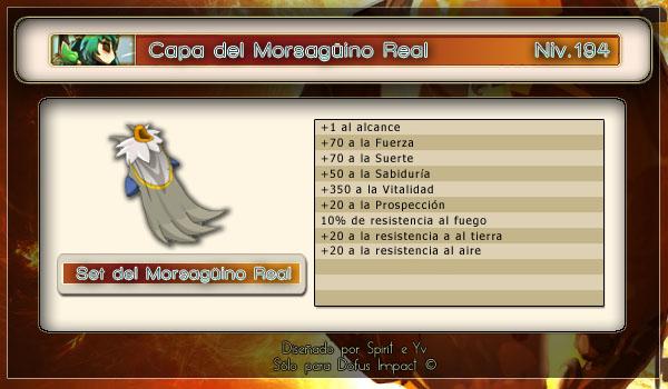 Capa Morsagüino real