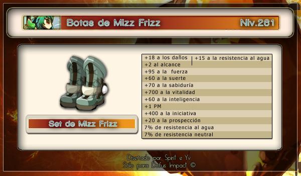 Botas de Mizz Frizz