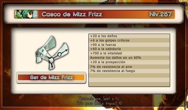 Casco de Mizz Frizz