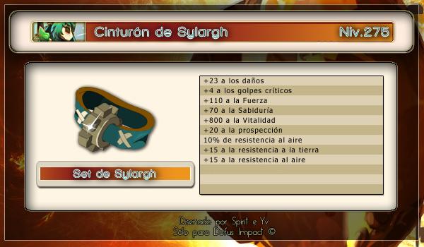 Cinturon de sylargh
