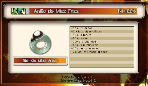 Anillo de Mizz Frizz