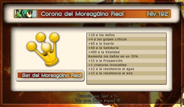Corona Morsagüino real