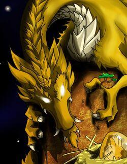 Dofus ocre dragon elemental terrakurial by marisss shonen ai-d5kn4xf