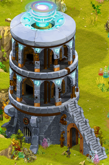 Torre viajeros dimensionales