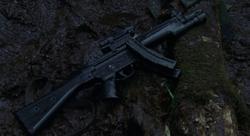 MP5 on ground