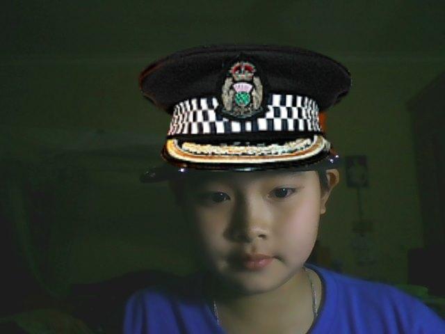 File:Police Officer DogBegLeg.JPG