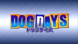Dog days title screen