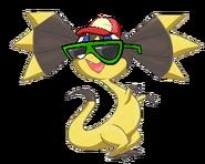 Helioptile as a talking pokemon (1)