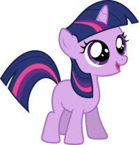 Twilight sparkle filly by hawk9mm-d54fjcc