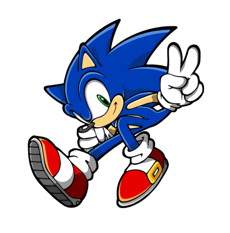File:Sonic GCSE comic Sonic COVER by envy the hedgehog.png