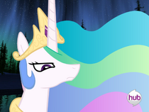 Attack of the bloody Celestia appearing, to save thy agents!