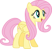 Fluttershy excited by fehlung-d6p5z15