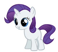 Rarity the happy filly by dantondamnark-d4ctawj