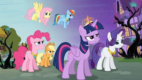 Main six with the Elements of Harmony S4E1
