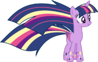 Twilight sparkle rainbow power by elsia pony-d7hy7or