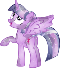 Crystal twilight sparkle by memershnick-d6chir5