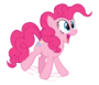 Pinkie pie jumping vector by realpinkiedianepie-d5vde5d