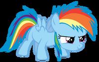 Rainbow dash filly by dantondamnark-d4chck9