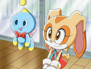 Cream and cheese....in sonic x