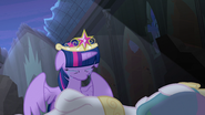 Twilight cries over Princess Celestia's body S4E2