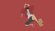 Mugen samurai champloo minimalist wallpaper by greenmapple17-d8g2bhq