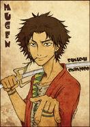 Mugen samurai champloo fanart by shisleya