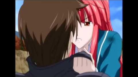 Kaze no Stigma kazuma and Ayano Funny Moment