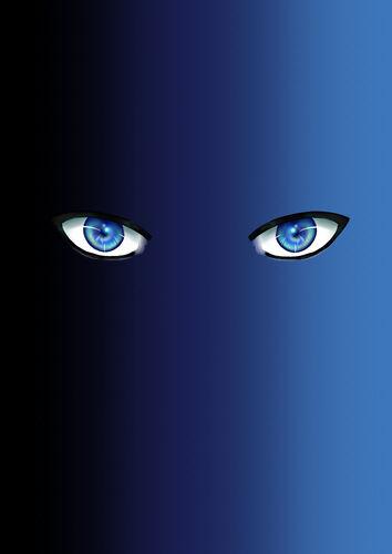Cho's eyes