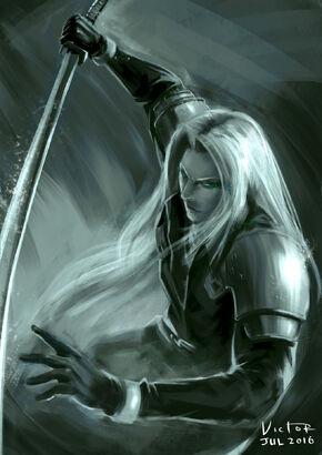 Sephiroth fanart by victortienyu-da8po3l