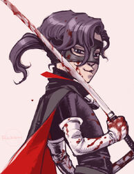 Hit girl bloody doodle by r6655321-d4k22nd