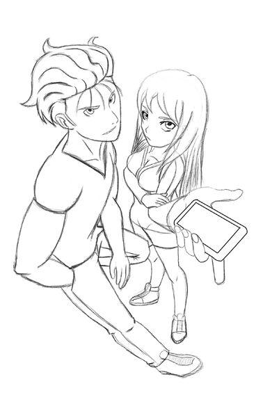 Cho and Naomi