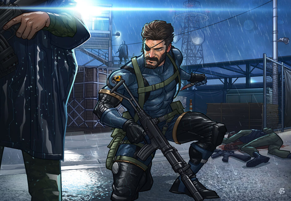 Metal gear solid v ground zeroes by patrickbrown-d7fnexu