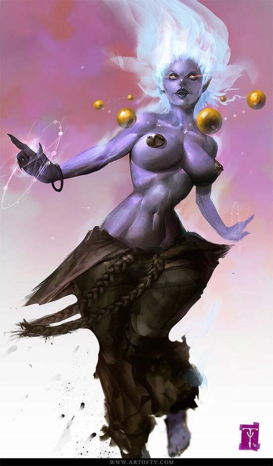 Lady oni by artofty-d4h17nj