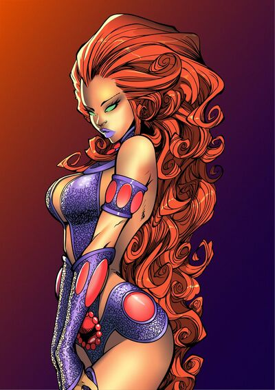 Starfire by saeros89-d8tfvkr