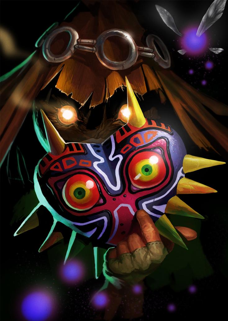 Majoras Mask Skullkid By Go Maxpower D54t3ib