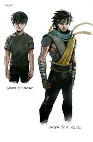 Takeda MKX Comic Concept Art