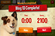 Completing a Level