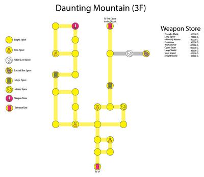Daunting Mountain (3F)