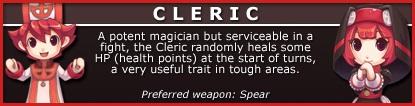 Cleric Class
