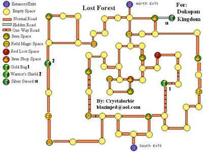 Dokapon kingdom lost forest