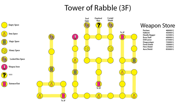Tower of Rabble (3F)