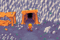 Dokapon Monster Hunter Mine Entrance