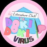 Re-Literature Club! The Doki Doki Virus logo