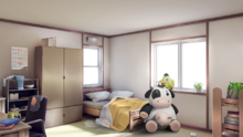 Sayori bedroom
