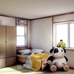 Комната Саёри, которую можно увидеть только в <a href=