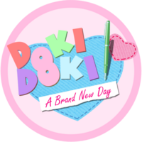 DDLC A Brand New Day Logo