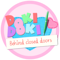 DDLC Behind Closed Doors Logo