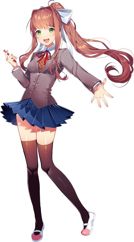 Monika Doki Doki Literature Club Wiki FANDOM powered