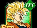 Combat intensifié - Son Goku Super Saiyan
