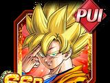 Téléportation finale - Son Goku Super Saiyan